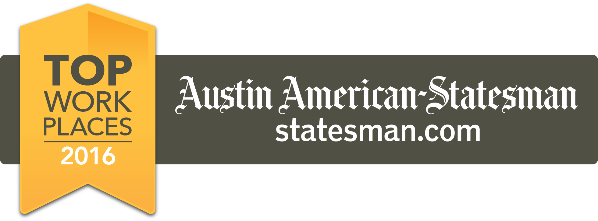 PCC is a 2016 awardee of the Austin-American Statesman Top Places to Work
