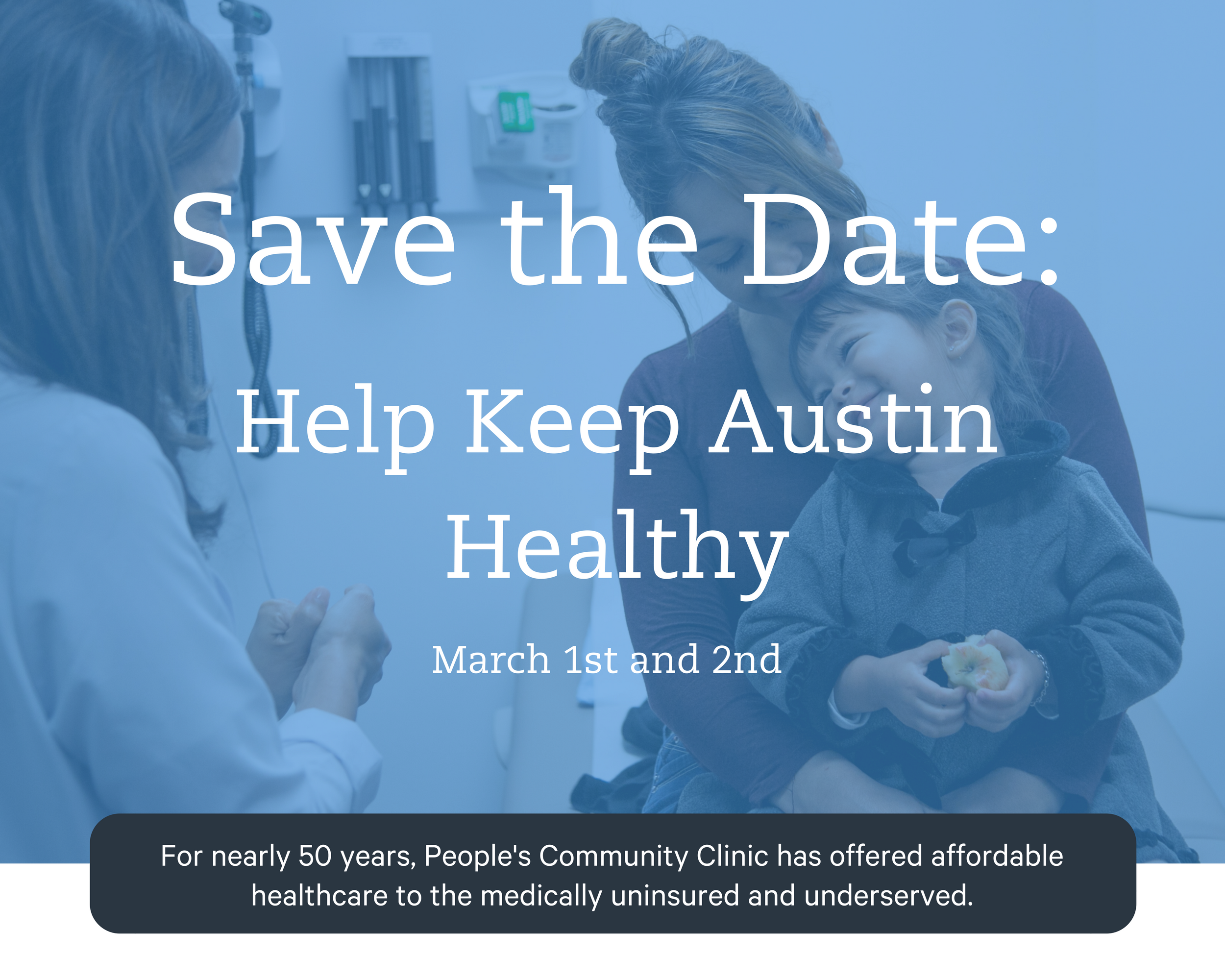 Save the Date: Help Keep Austin Healthy